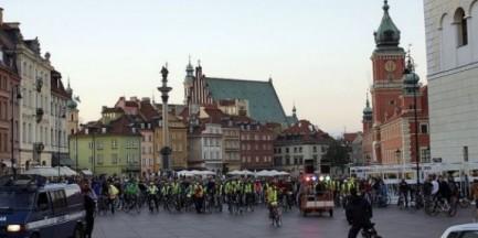 Ulicami Warszawy przejedzie Warszawska Masa Krytyczna