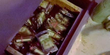 118 saszetek z dopalaczami ukryła za zlewem