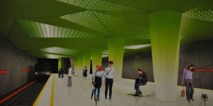 Nowe stacje II linii metra. Tak będą wyglądały (ZDJĘCIA)
