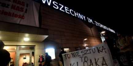 """Chcą, by zaprzestano wystawiać """"Klątwę"""". Napisali petycję do Gronkiewicz-Waltz"""