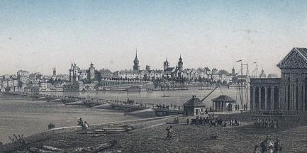 Warszawa w 1855 roku [Litografie i rysunki]