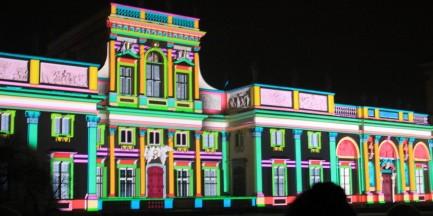 Festiwal Światła w Wilanowie [ZDJĘCIA i WIDEO]