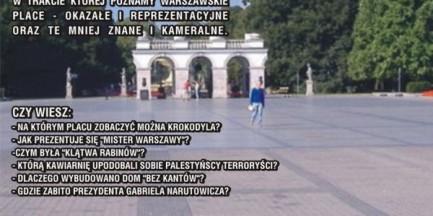 Spacer: Place Warszawy