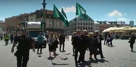Ulicami Warszawy przemaszerował ONR. Hołd dla ofiar ludobójstwa