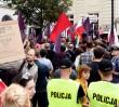 """Demonstracja przed Pałacem Prezydenckim. """"Chcemy weta!"""""""