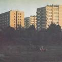 Osiedle Międzynarodowa widok z Parku Skaryszewskiego, 1972 r.