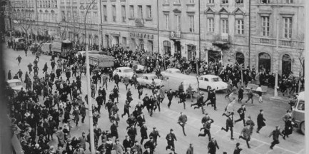Marzec '68 na UW (zdjęcia)