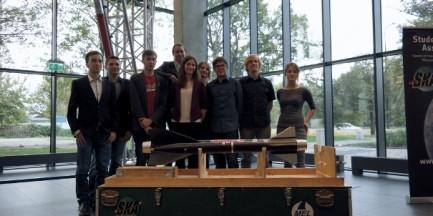 Studenci Politechniki Warszawskiej stworzyli ponaddźwiękową rakietę
