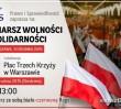 W niedzielę w Warszawie odbędą się trzy duże marsze