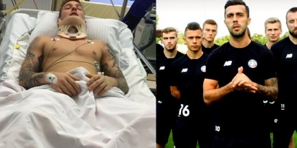 #NieMaZeBoli: Piłkarze Polonii stworzyli wyjątkową akcję, by pomóc sparaliżowanemu koledze