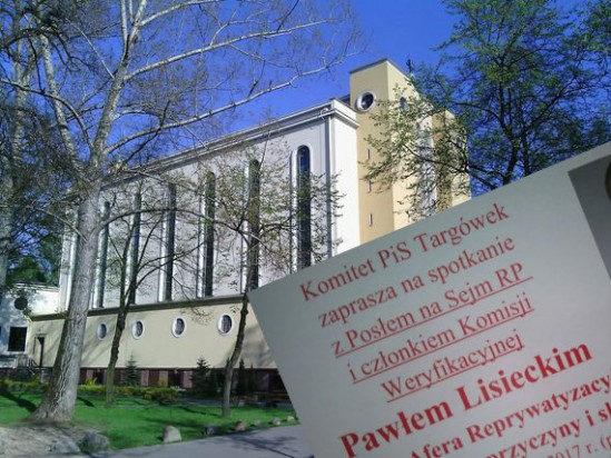 Sanktuarium Matki Bożej Różańcowej w Warszawie. Fot. WikimediaCommons/Twitter