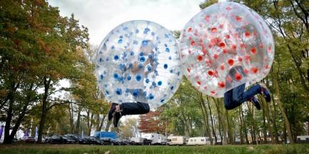 Za darmo: turniej bubble football