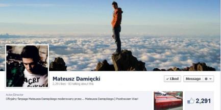 Mateusz Damięcki apeluje do złodzieja na Facebooku