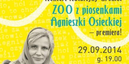 """Za darmo: koncert """"Pamiętajmy o Osieckiej"""""""