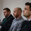 Jan Śpiewak podczas procesu. Fot. PAP/Leszek Szymański