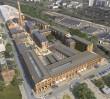 Rewitalizacja starej fabryki kosmetyków na Pradze [WIZUALIZACJE]