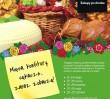 Oscypki, sery korycińskie, kurpiowskie pieczywo i... kolorowe witraże