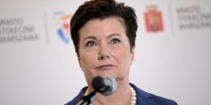 """Gronkiewicz-Waltz: """"będą kroki prawne wobec naruszających moje dobre imię"""""""