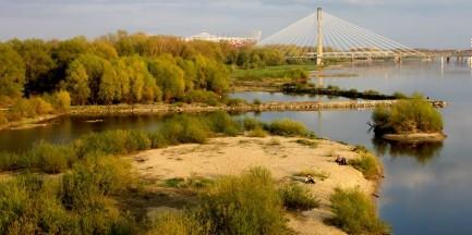 Wycieczki wzdłuż brzegu Wisły z okazji Światowego Dnia Wody