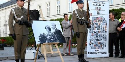 """Jarosław Kaczyński: """"Pomnik Lecha Kaczyńskiego tutaj stanie"""""""