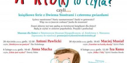 Za darmo: Anna Mucha i Iza Kuna czytają dzieciom