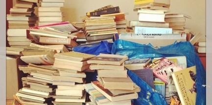 Niepotrzebne książki przynieś dziś na pl. Bankowy