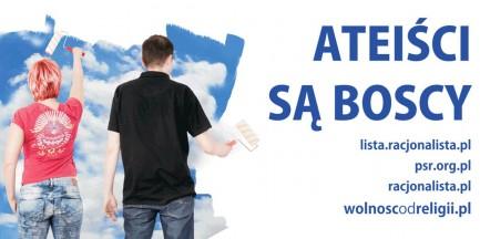 Bilboardy promujące ateizm zawisną w stolicy!