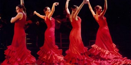 Za darmo: Flamenco z dzieckiem na ręku