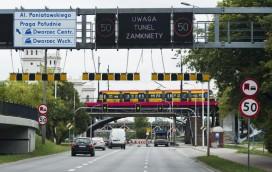 Autobusy znów kursują mostem Świętokrzyskim