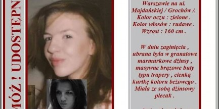 Zaginęła Agata Jabłońska