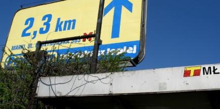 Reklamowy koszmar w Warszawie